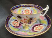 SOLD London shaped cup & saucer